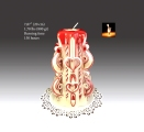 Red Large Candle 1