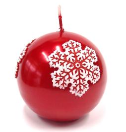 ctmas-snow-kula-100-mm-czerwony-metalik